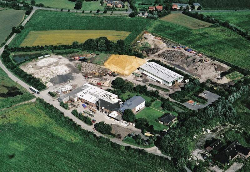 HMH Luftbildaufnahme des Unternehmens in Bockholt-Hanredder
